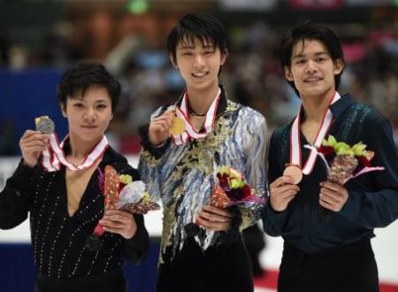Neveitaliaより「羽生結弦が全日本三連覇、しかし2位3位はサプライズ」