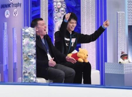 Neveitaliaより「羽生結弦、NHK杯のショートプログラムで歴史を塗り替える」