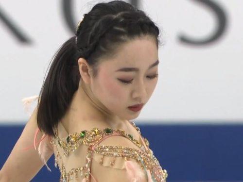 イタリア解説EuroSport版「2017名古屋GPF~樋口新葉SP」
