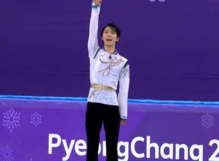 Rai2ニュースより「オリンピックスペシャル~男子フリー」
