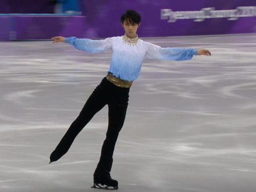 Rai2ニュースより「オリンピックスペシャル~男子ショート」