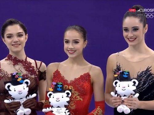 イタリア解説EuroSport版「平昌2018女子FS~上位3選手」