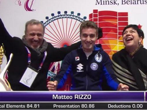 イタリア解説RaiSport版「2019欧州選手権~マッテオ・リッツォ銅メダル!」