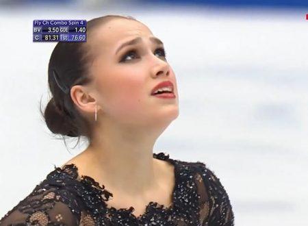 イタリア解説EuroSport版「2019埼玉世界選手権~アリーナ・ザギトワFS+」