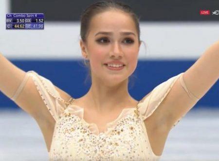 イタリア解説EuroSport版「2019埼玉世界選手権~アリーナ・ザギトワSP」