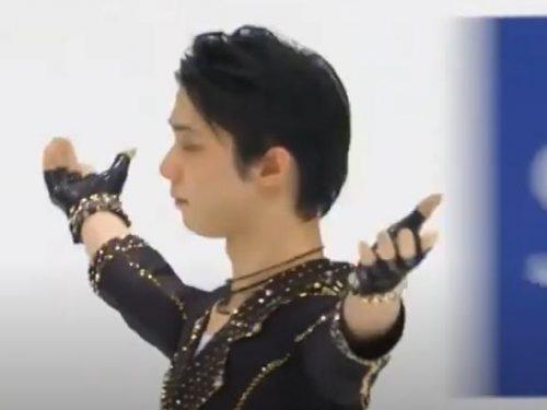 マッシミリアーノさんのFBより「羽生結弦が全日本ショート首位」